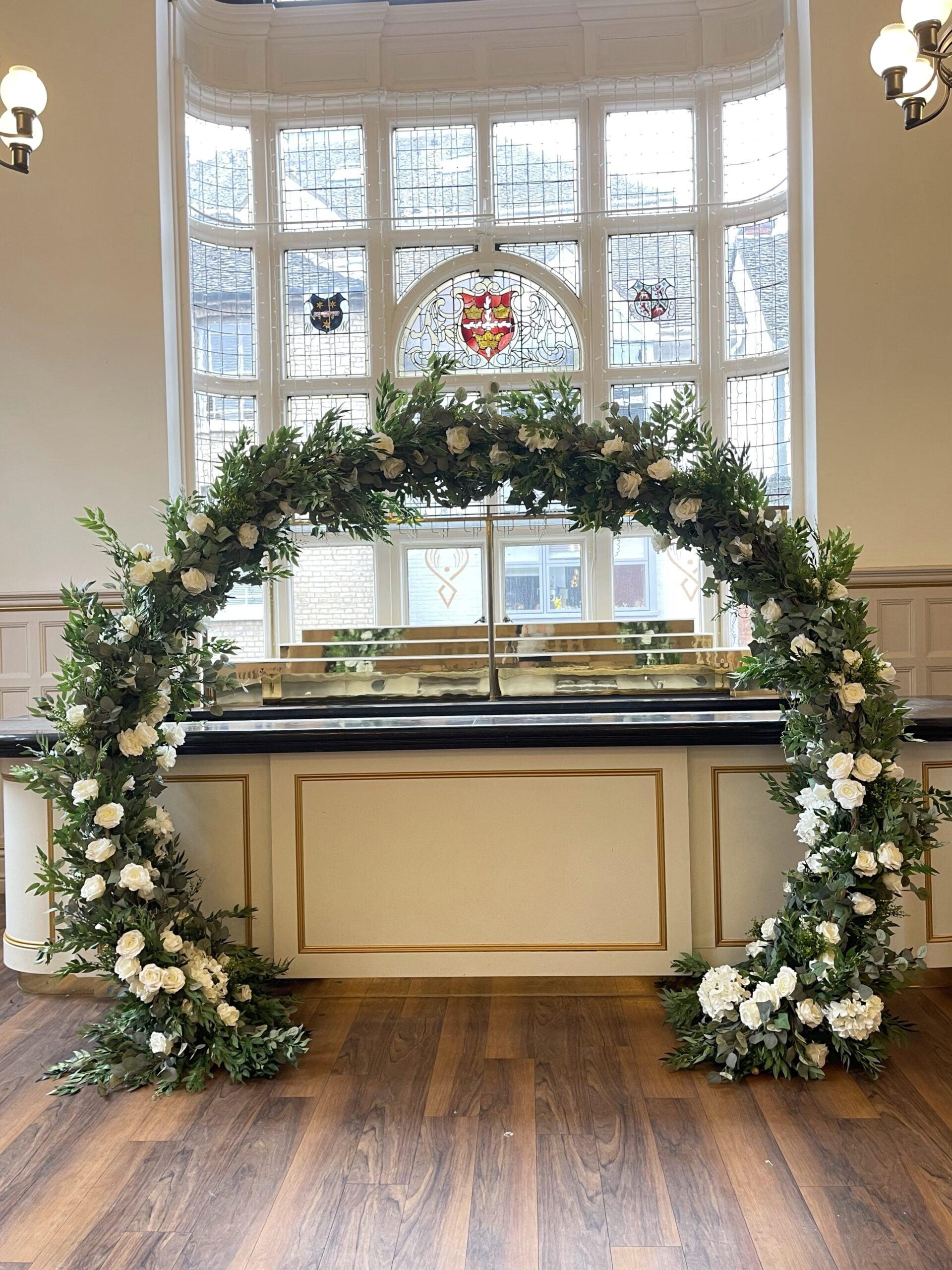 Floral Arch (£185)